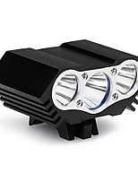 cheap -Front Bike Light / Headlight LED Cycling Waterproof, Portable, Professional 12000 lm USB Daylight Camping / Hiking / Caving / Everyday Use / Cycling / Bike