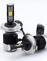 baratos -SO.K 2pcs 9003 / H10 / H13 Carro Lâmpadas 30 W LED Integrado / COB / LED de Alto Rendimento 8000 lm 2 LED Lâmpada de Farol Todos os Anos
