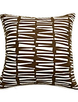 cheap -1 pcs Polyester Pillow With Insert, Geometric Patterned / Modern Style