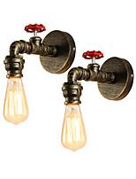 cheap -OYLYW Mini Style Simple / Retro / Vintage Wall Lamps & Sconces Living Room / Kitchen Metal Wall Light 110-120V / 220-240V 60 W / E26 / E27