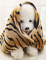 cheap -Portable / Mini / Soft Dog Clothes Bed / Towels / Towel Animal / Fashion / Lolita Stripe Rodents / Dogs / Cats