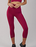 cheap -Women's Daily Basic Legging - Solid Colored High Waist