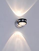 Недорогие -QIHengZhaoMing Хрусталь LED / Модерн Настенные светильники кафе / Офис Алюминий настенный светильник 110-120Вольт / 220-240Вольт 10 W
