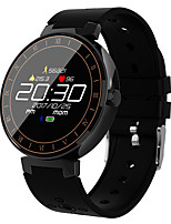 cheap -Smartwatch L8 for Android 4.3 and above / iOS 7 and above Heart Rate Monitor / Waterproof / Blood Pressure Measurement / Pedometers / Long Standby Pedometer / Call Reminder / Activity Tracker / Sleep