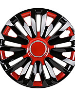 Недорогие -1 шт. Крышка ступицы 13 дюймы Мода пластик / Металл Колпаки на колесаForУниверсальный Дженерал Моторс Все года
