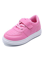 cheap -Girls' Shoes PU(Polyurethane) Spring & Summer Comfort Sneakers Walking Shoes for Teenager White / Black / Pink