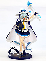 baratos -Figuras de Ação Anime Inspirado por Vocaloid Neve Miku 2018 PVC 23 cm CM modelo Brinquedos Boneca de Brinquedo
