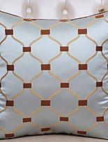 baratos -1 pçs Poliéster Cobertura de Almofada, Geométrica Padrão / Estilo Moderno