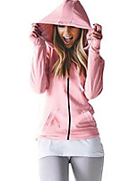 cheap -Women's Street chic Hoodie - Solid Colored