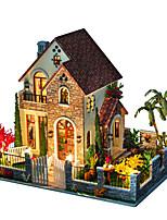Недорогие -Кукольный домик Творчество / моделирование / утонченный Вилла 1 pcs Куски Все Детские Подарок