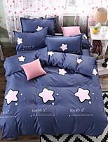 preiswerte -Bettbezug-Sets Geometrisch Polyester Reaktivdruck 3 Stück