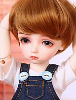 Недорогие -OuenElfs Кукла с шаром / Блайт Кукла Мальчики 10 дюймовый Полный силикон для тела - Высокотемпературные резистивные парики Детские Мальчики Подарок