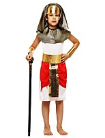 cheap -Pirate Outfits Boys' Halloween / Carnival / Children's Day Festival / Holiday Halloween Costumes White Solid Colored / Halloween Halloween