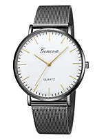 cheap -Geneva Women's Wrist Watch Chinese New Design / Casual Watch / Cool Alloy Band Casual / Fashion Black / Gold / One Year