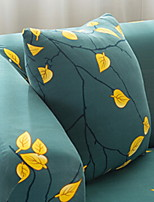 cheap -1 pcs Brocade / Polyester Pillow Case, Leaf Simple