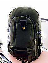 Недорогие -Универсальные Мешки холст рюкзак Молнии Миндальный / Военно-зеленный / Хаки