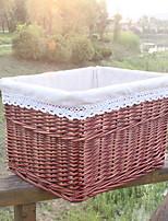Недорогие -Корзина для белья / Коробка для хранения пластик Обычные Дорожная сумка 1 коробка для хранения Сумки для хранения домашних хозяйств