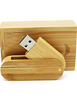 cheap -Ants 4GB usb flash drive usb disk USB 2.0 Wooden / Bamboo Rotating