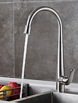 cheap -Kitchen faucet - Standing Style / Designed in China Brushed Steel Standard Spout Free Standing
