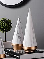 Недорогие -3шт Керамика Средиземноморье / Простой стиль для Украшение дома, Подарки / Декоративные объекты / Домашние украшения Дары