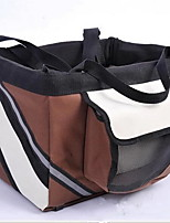 cheap -Adjustable / Portable Dog Clothes Carrier & Travel Backpack Classic Black / Coffee Dogs / Cats / Furry Small Pets