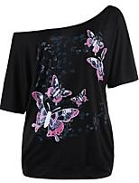 preiswerte -Damen Tier T-shirt