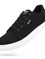 Недорогие -Муж. Полотно Весна Удобная обувь Кеды Черный / Серый / Красный