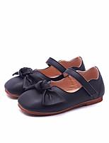 Недорогие -Девочки Обувь Полиуретан Весна & осень Удобная обувь / Детская праздничная обувь На плокой подошве для Черный / Бежевый / Розовый