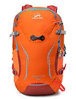 cheap -35 L Hiking Backpack - 3D Pad, Wearable, Breathability Outdoor Bike, Travel Nylon Orange, Green, Blue