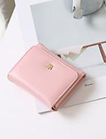 cheap -Women's Bags PU(Polyurethane) Wallet Zipper Dark Blue / Fuchsia / Khaki