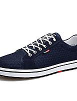 Недорогие -Муж. Сетка Лето Удобная обувь Кеды Черный / Серый / Синий