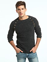 cheap -Men's Active / Basic Cardigan - Solid Colored