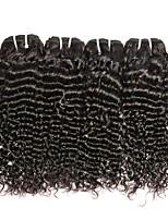 Недорогие -4 Связки Малазийские волосы Крупные кудри Необработанные / Натуральные волосы Подарки / Косплей Костюмы / Человека ткет Волосы 8-28 дюймовый Естественный цвет Ткет человеческих волос Sexy Lady