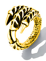 cheap -Men's Stylish Band Ring - Stainless Steel Punk, Trendy, Hip-Hop 8 / 9 / 10 Gold / Silver For Gift / Daily