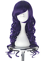cheap -Cosplay Wigs Vocaloid Megurine Luka Anime Cosplay Wigs 190.5 cm CM Heat Resistant Fiber All
