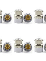 cheap -6pcs B22 to E14 E14 Bulb Accessory Light Socket Plastic