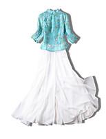 cheap -Women's Set - Floral Skirt