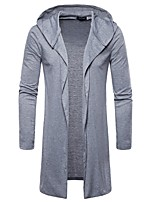 cheap -Men's Basic Cardigan - Solid Colored