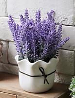 baratos -Flores artificiais 1 Ramo Clássico Moderno / Contemporâneo / Estilo simples Flores eternas / Vaso Flor de Mesa