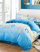 cheap -Duvet Cover Geometric 100% Cotton Applique 3 Piece