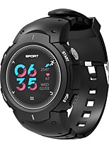cheap -Smartwatch F13 for iOS / Android Waterproof / Calories Burned / Long Standby / Touch Screen / Creative Pedometer / Call Reminder / Activity Tracker / Sleep Tracker / Sedentary Reminder / Alarm Clock