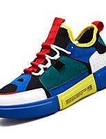 cheap -Men's Mesh Fall Comfort Sneakers White / Gray / Blue