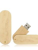 abordables -Ants 64GB memoria USB Disco USB USB 2.0 Madera / Bambú Rotativo