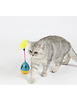 cheap -Feather Toy Tumbler / Lovely Plastic For Dogs / Cats