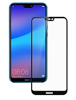 cheap -Screen Protector for Huawei Huawei P20 Tempered Glass 1 pc Front Screen Protector High Definition (HD) / 9H Hardness / Explosion Proof