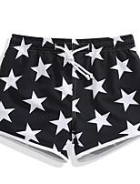 abordables -Mujer Pantalones de Natación Utra ligero (UL), Secado rápido, Transpirable Licra / POLY Bañadores Ropa de playa Pantalones de Surf / Prendas de abajo Estrellas Surfing / Playa / Deportes de Agua