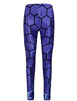 preiswerte -Damen Alltag Grundlegend Legging - Geometrisch Mittlere Taillenlinie