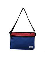 preiswerte -Unisex Taschen Oxford Tuch Umhängetasche Reißverschluss Orange / Gelb / Fuchsia