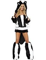 abordables -Pirates of the Caribbean / Pirata Disfrace de Cosplay / Tocados / Accesorios Halloween / Carnaval Festival / Celebración Disfraces de Halloween Negro Retazos Animal / Halloween