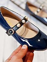 Недорогие -Девочки Обувь Полиуретан Весна & осень Удобная обувь / Детская праздничная обувь На плокой подошве для Черный / Красный / Синий